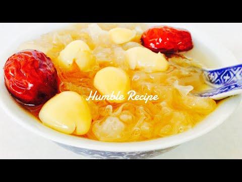 ANTI AGING & NOURISHING SNOW FUNGUS Dessert Soup | Tong sui