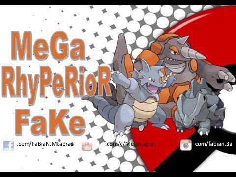 Mega Rhyperior Fake - Pokémon Kanto / Sinnoh