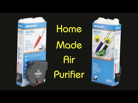 How to Make Air Purifier - Make Your Own Air Filtration System
