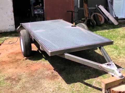 My Homemade utility trailer