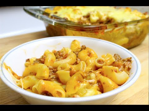 MAC & CHEESE WITH BEEF