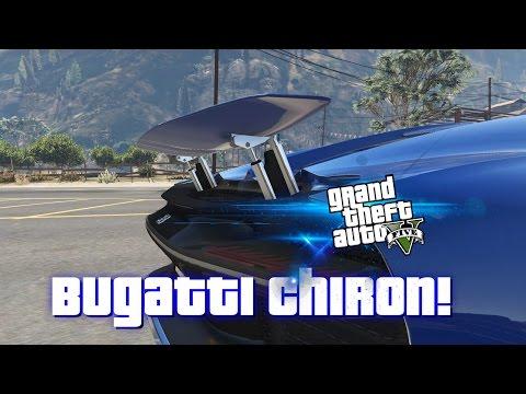 BUGATTI CHIRON SHOWCASE DRIVING OVER 300 MPH [480 KMPH] - GTA 5 MOD SHOWCASE