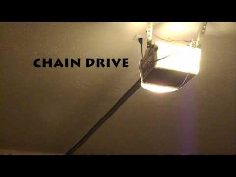 Quiet Garage Door Opener - Chain vs Belt