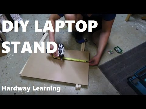 How to Build a Laptop Stand DIY
