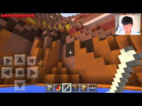 Minecraft PE Survival: Ep. 17 - GOLD MINE JACKPOT