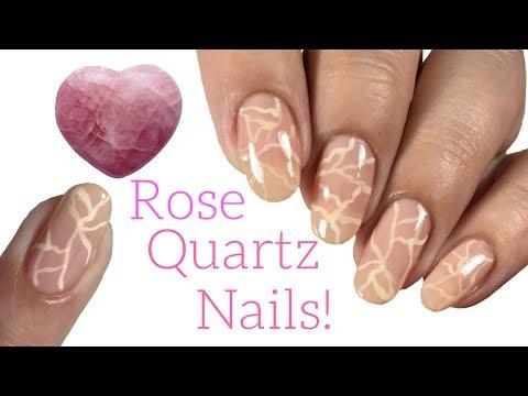 Rose Quartz Nail Tutorial!