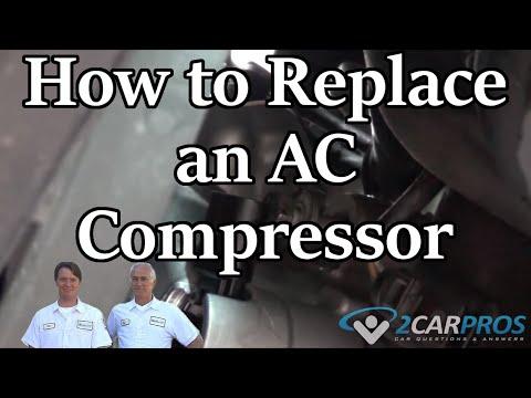 Air Conditioner Compressor Replacement Mercedes Benz C230 Kompressor 2001-2007