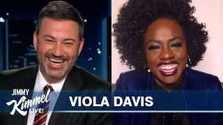 Viola Davis on Playing Ma Rainey, Surprise from Oprah & Her Daughter's Christmas List