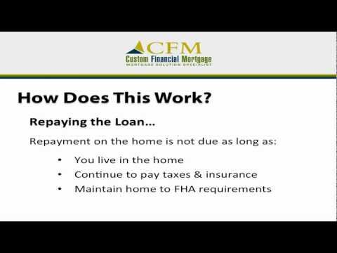 Reverse Mortgage FAQ #5:  How & When Do I Repay My Reverse Mortgage?