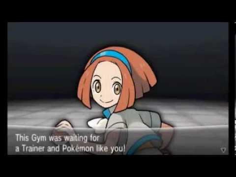 Pokemon X/Y - Walkthrough Part 13 - Gym Leader #02 Grant (Cyllage City)