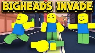 Bigheads Invade Jailbreak! (roblox Jailbreak)