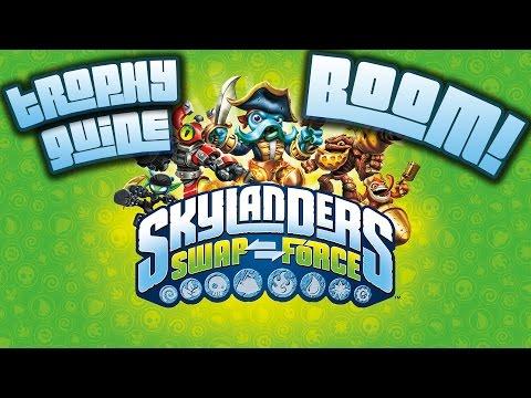 Skylanders: Swap Force - Boom! Trophy / Achievement Guide