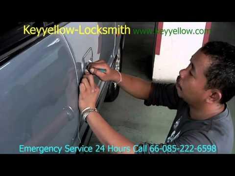 Locksmith Unlock A Car Door 1996 Honda Odyssey  /  Keyyellow