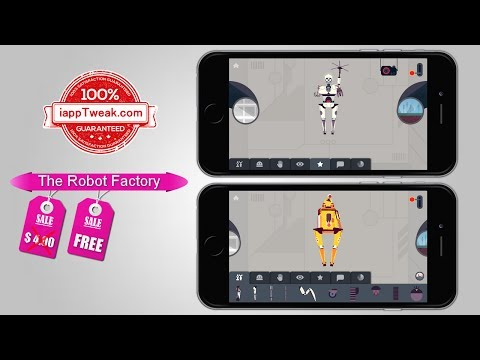 The Robot Factory : Apple's free app of the week [$4 Value]