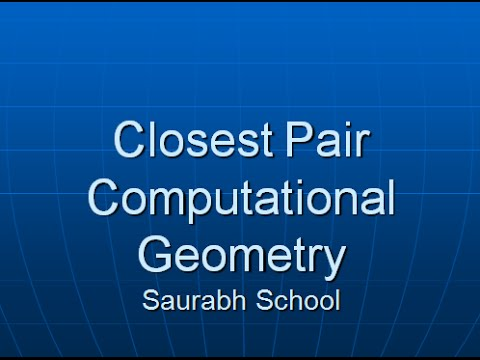 Programming Interview: Finding Closest Pair of Points in Plane (Divide and Conquer) Part 2