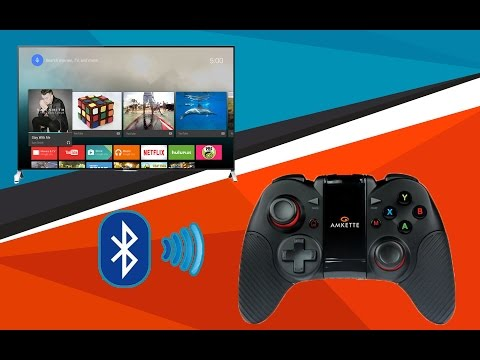 How to Connect Amkette Evo Gamepad PRO 2 with Android TV