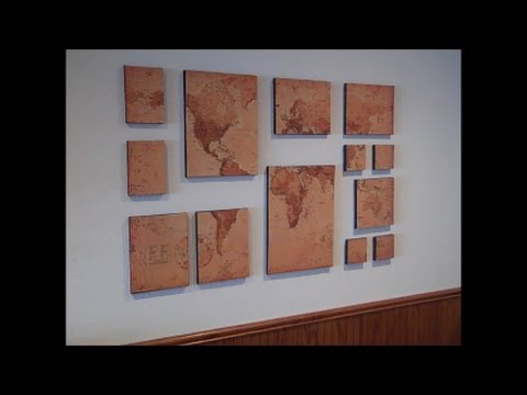 How to Make Church Missionary Map Art