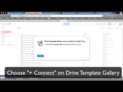 Get Template Gallery Back In Google Drive Google Drive Templates