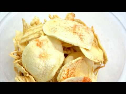 MAKE EASY POTATO WAFERS DRIED IN SUN /Potato chips/Aloo chips