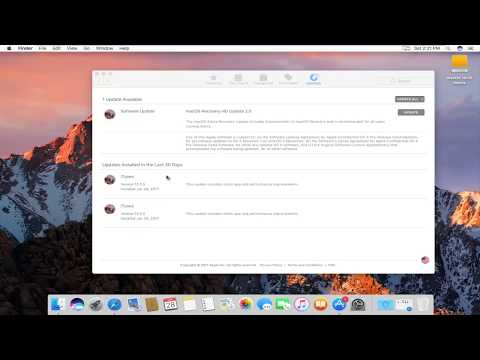 How To Update iTunes In macOS Sierra