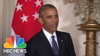 President Obama: Donald Trump Is 'Unfit To Serve As President' | NBC News