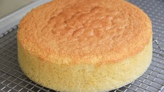 Sponge Cake Recipe Japanese Cooking 101