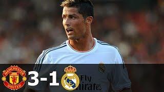 🔥 Манчестер Юнайтед - Реал Мадрид 3-1 - Обзор Матча Международного Кубка Чемпионов 03/08/2014 HD 🔥