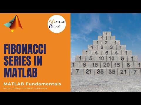 Fibonacci Series | MATLAB Tutorial