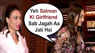 Sonakshi Sinha Ignores Salman Khan Girlfriend Iulia Vantur At Loveratri Screening
