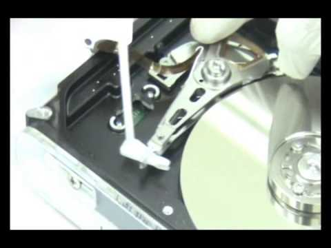 data recovery training opening of hard disk demo (Hindi)