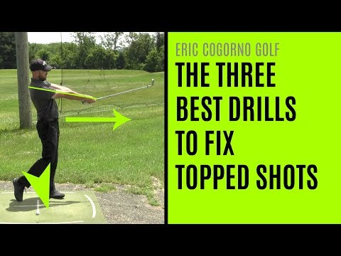 GOLF: The Three Best Drills To Fix Topped Shots