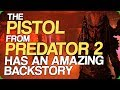The Pistol From Predator 2 Has An Amazing Backstory Awful Leaked Plot For The Predator