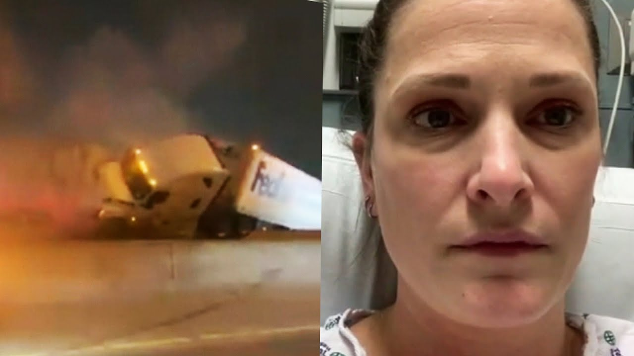 Nurse Who Survived 100-Vehicle Pileup Made It to Her Shift