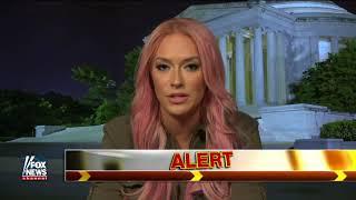 Kaya Jones on being a Trump supporter on FOX Hannity