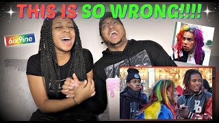 "6IX9INE - ""SKEETSKEET FT. FETTY WAP & A BOOGIE WIT DA HOODIE (KEKE PARODY)"" REACTION!!!"