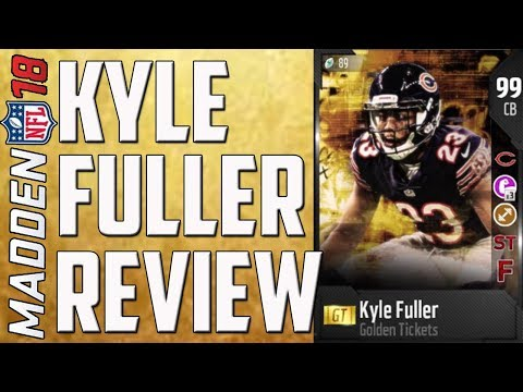 How Good is Golden Ticket Kyle Fuller? MUT 18 Card Review