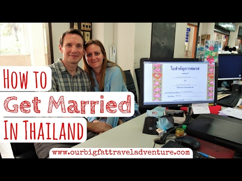 How to Get Married in Thailand | Living in Thailand | Week 24