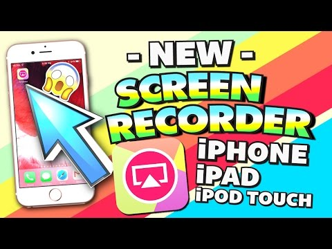 Get AirShou Screen Recorder on iPhone, iPad, iPod Touch (NO JAILBREAK) (NO COMPUTER) iOS 10 / 9