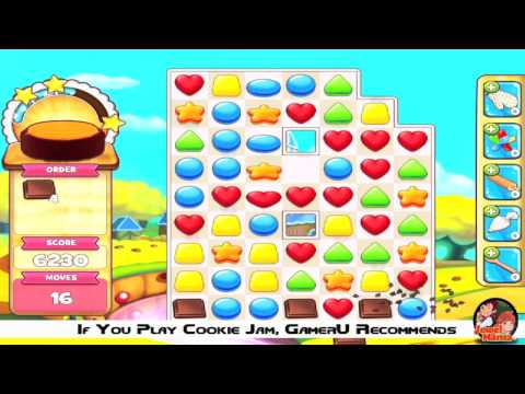 Cookie Jam - How to Make Individual Super Candies/ Sweets/ Cookies