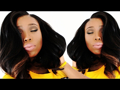 Long Bob Hairstyle For Black Women Tutorial