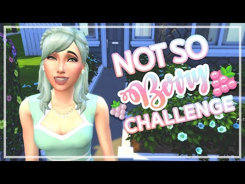 DISASTROUS HOUSE PARTY?! // The Sims 4 - Not So Berry Challenge #1 | Mint