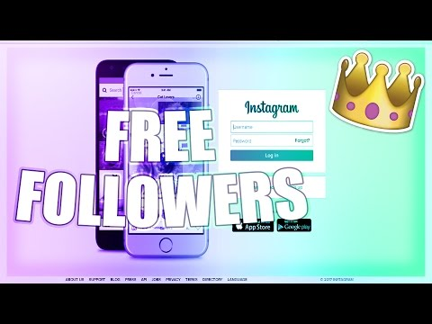 How to Get Free Instagram Followers 2017 - 100% WORKS - Tips on Gaining Followers FAST 2017