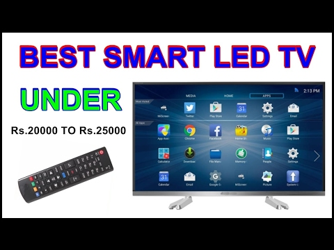 Best Smart TV Under 20000 to 25000 rupees in india