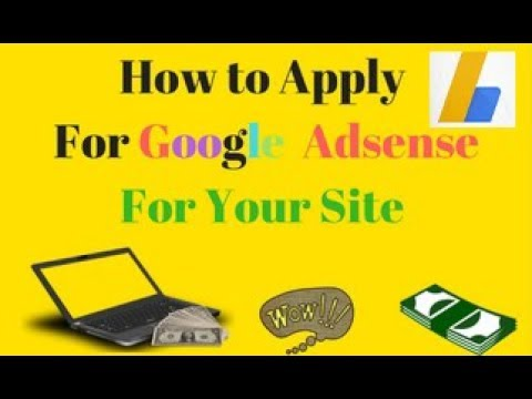 how to Apply for Adsense For your Blog or website in 2 minutes