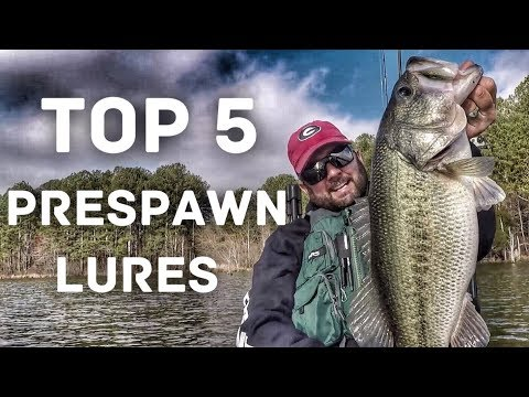 Top 5 Spring Bass Fishing Lures - Prespawn