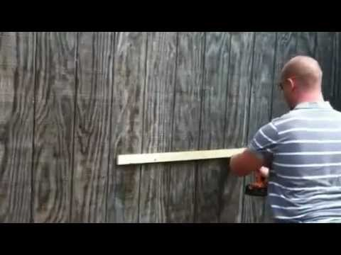 How to mount Custom built floating wall shelves from rayscustomwoodwork on Etsy.com