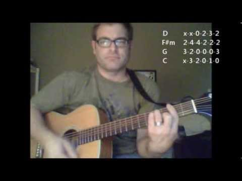 How to play Open Arms on acoustic guitar by Journey (Made Easy)