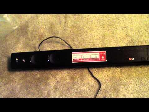 UNBOXING LG NB3530A 2.1 300 WATT SOUND BAR SOUNDBAR BLUETOOTH