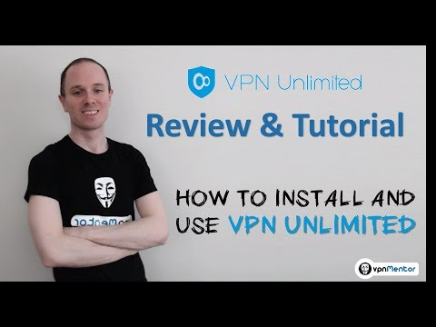 🥇 VPN Unlimited Review & Tutorial 2018 ⭐⭐⭐