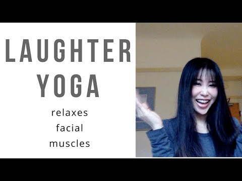 Laughter yoga relaxes facial muscles! Benefits of laughter yoga